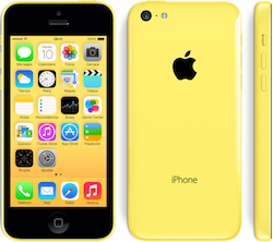 Iphone 5 amarillo