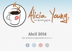 Café con Alicia Young