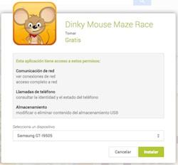 Permisos Aplicaciones Android