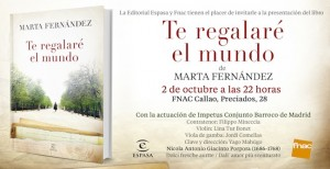 Presentación libro Marta Fernández