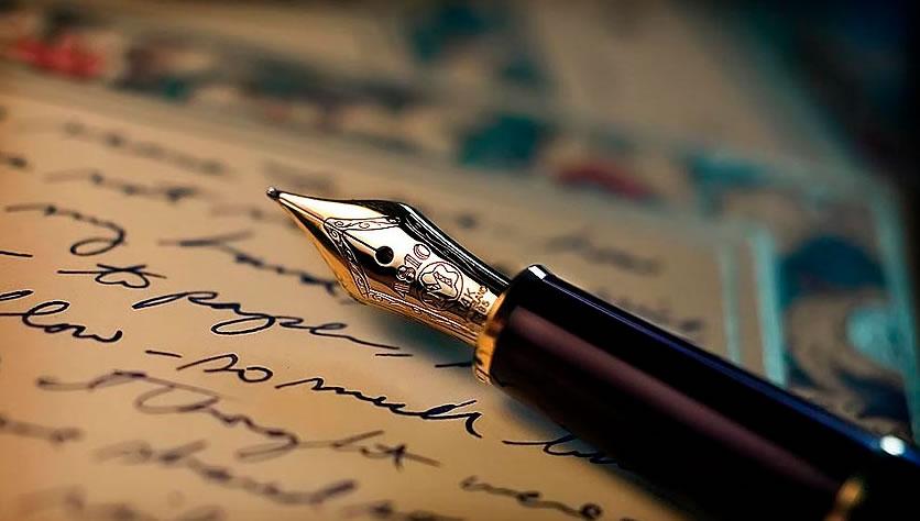 Resultado de imagen de escribe con pluma